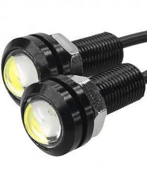 Eagle Eye Daytime Running Light - Pack of 2 - Black