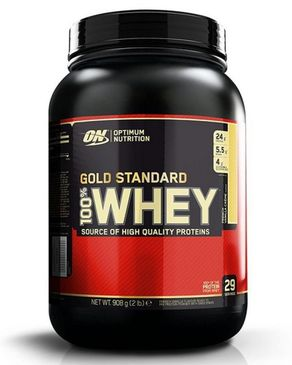 Gold Standard - 100% Whey Protein - 2 lbs - French Vanilla Creme