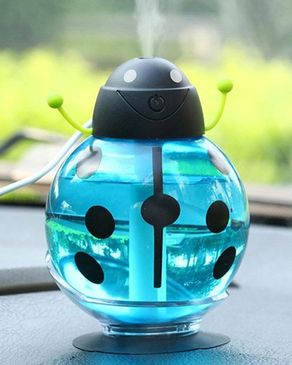 GS Wholeseller Beatles USB Humidifier Air Fresher LED Night Light - Blue