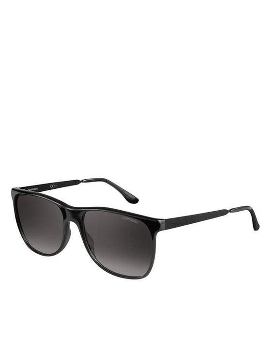 Carrera Acetate Black Frame with Grey Gradient Lens Sunglasses
