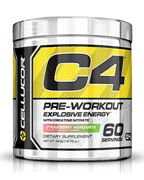 Cellucor C4 Fitness Training Pre-Workout Supplement - 390g - 60 servings - Strawberry Margarita