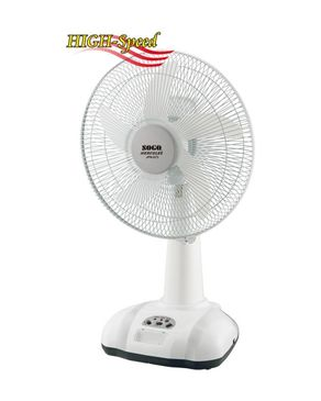 Sogo JPN-673 - Rechargeable Fan - 16""