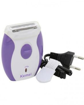 Kemei KM-280R Rechargeable Electric Shaver for Women