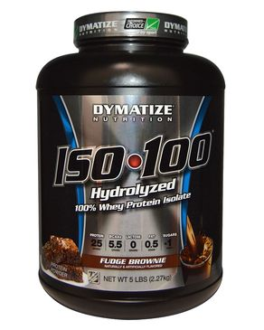 Hydrolized Whey Protein Isolate - 5lbs - Fudge Brownie