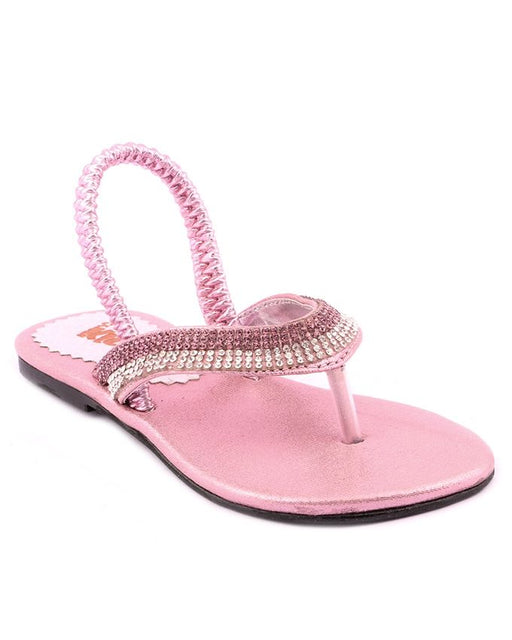 Stylo Shoes C41627 - Pink Synthetic Leather Sandal For Women - Euro Size