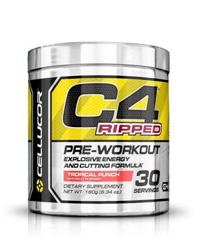 Cellucor C4 Ripped - 30 Servings - Tropical Punch