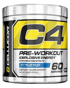 Cellucor C4 - PreWorkout - Icy Blue Razz- 60 Servings