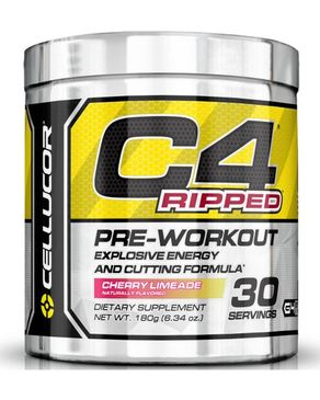 Cellucor C4 Ripped - PreWorkout - Cherry Limeade - 30 Servings