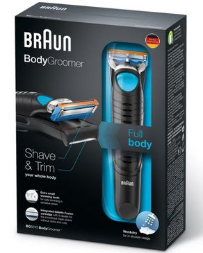 Braun BG5010 Full Body Groomer - Black