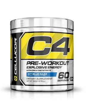Cellucor C4 - 60 Servings - Icy Blue Razz