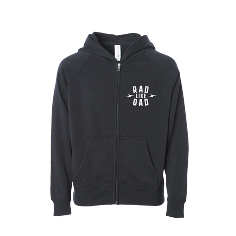 Rad Like Dad Zip-Up Hoodie