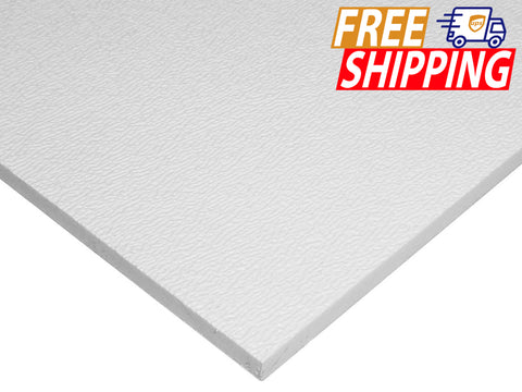 ABS Sheet - White - 1/16 inch thick