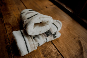 Birch Upcycled Sherpa Mittens