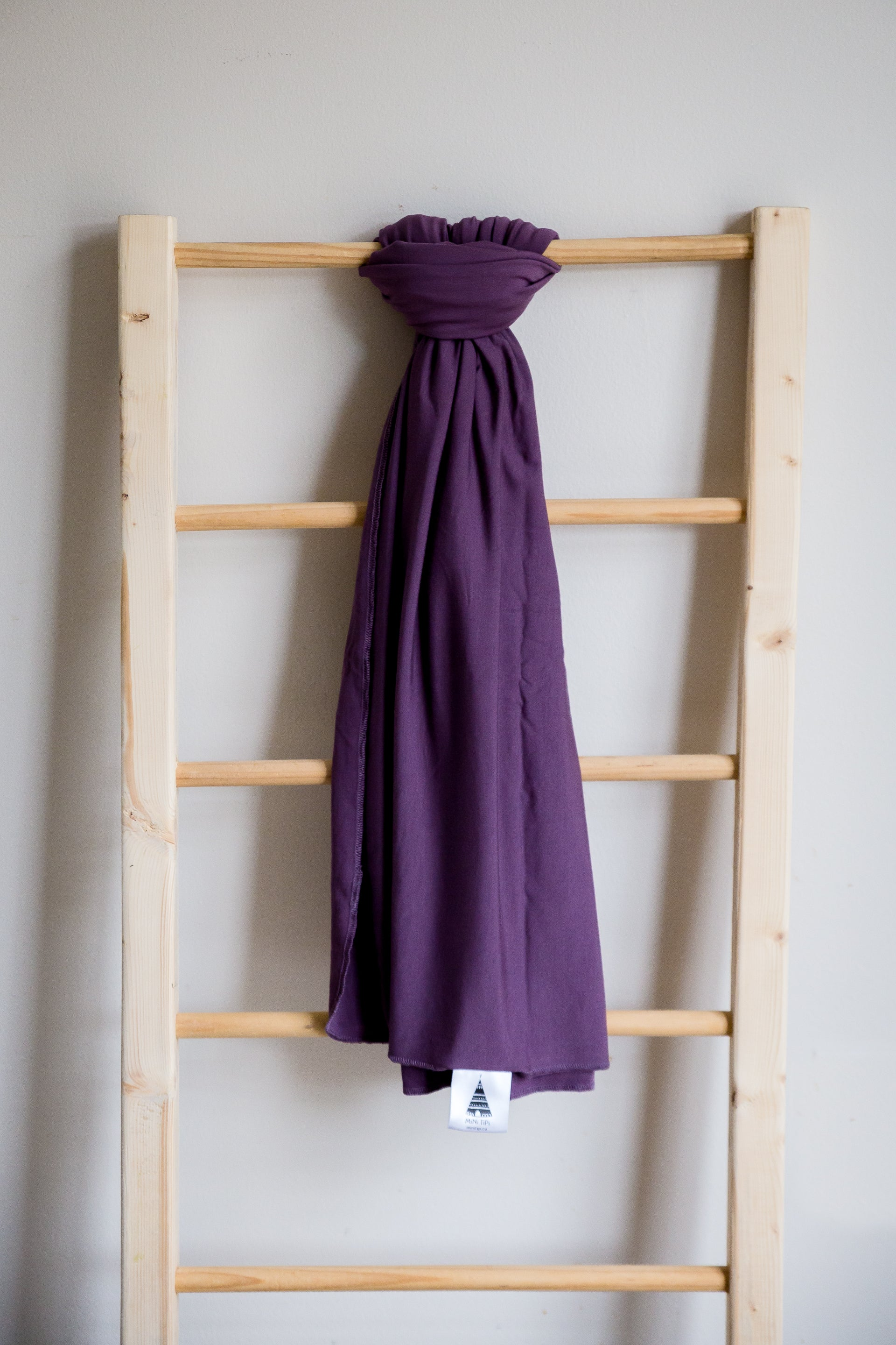 Grape Bamboo Swaddle Blanket