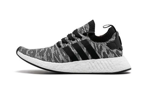 d92ad8a84 adidas NMD R2 Black White Future Harvest