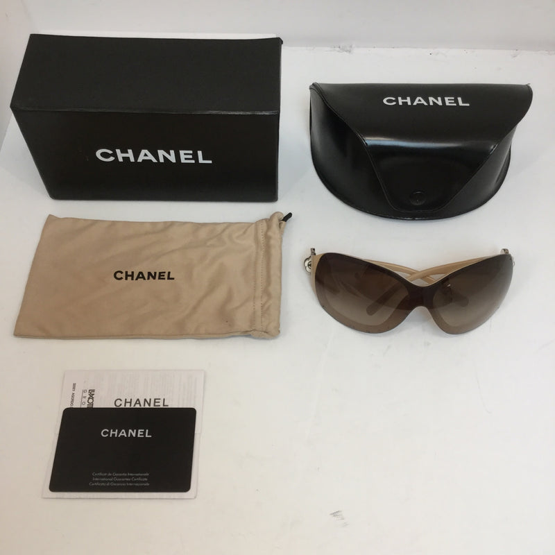 Chanel 6032 Camellia Flower Wrap Sunglasses