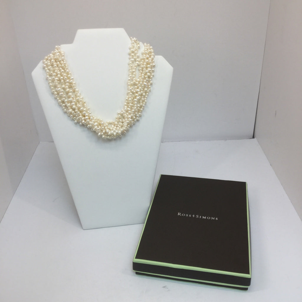 Ross + Simons Cultured Pearl Torsade Necklace