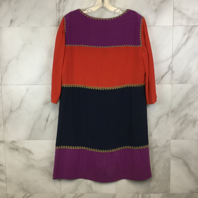 BCBG Maxazria Aidas Colorblock Dress - M