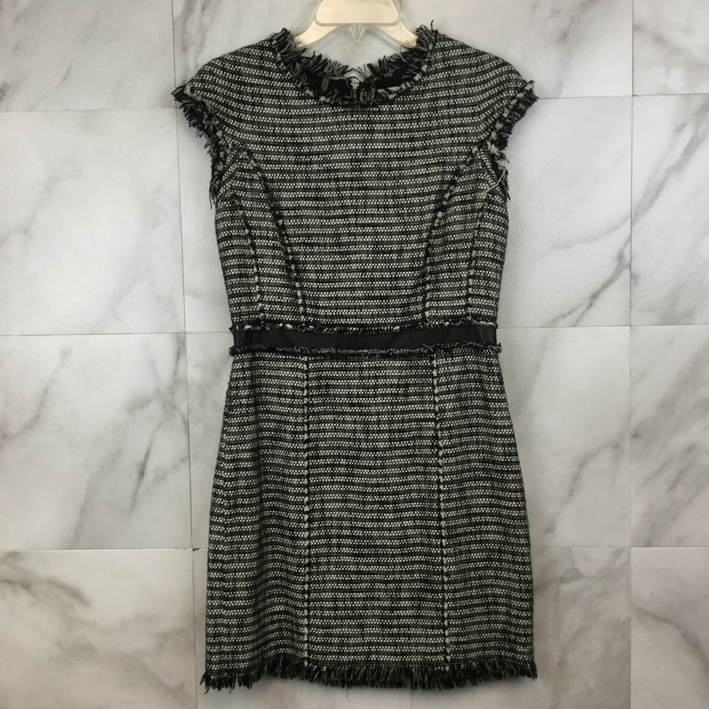 Rebecca Taylor Tweed Work Shift Dress - size 6
