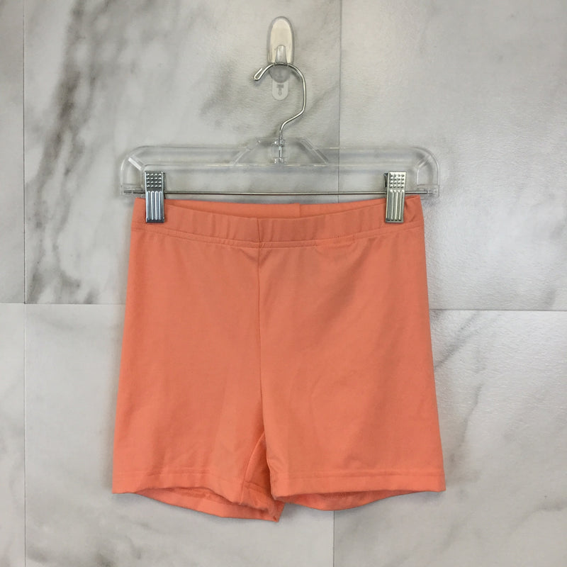 Girl's Stella McCartney for Adidas Pink Spandex Shorts size 140 (US Small)