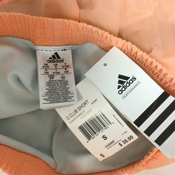 Girl's Adidas Pink Club Shorts size Small