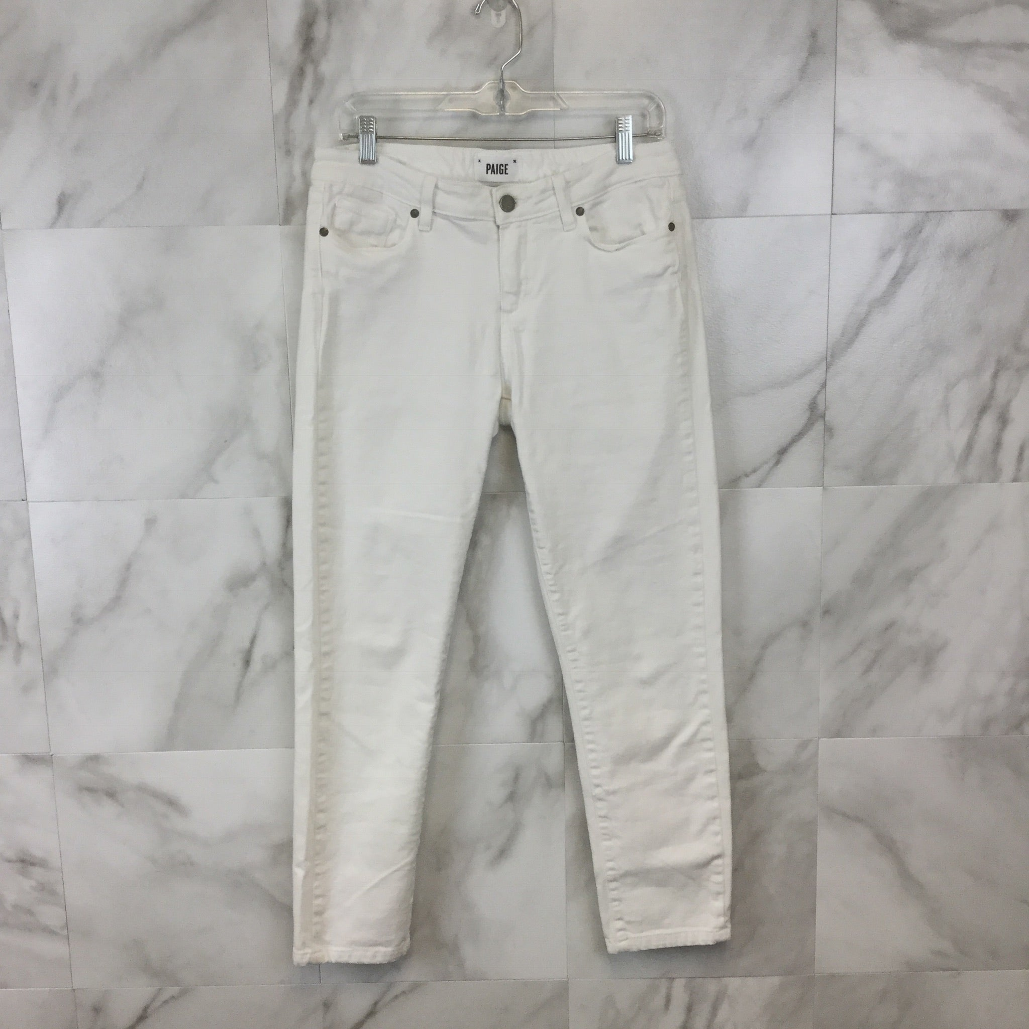 Paige White Skinny Jeans size 31