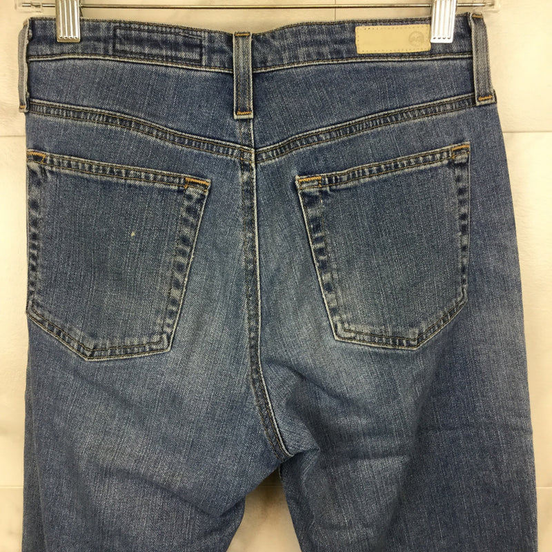 The Isabelle High Rise Straight Crop Jean- size 27