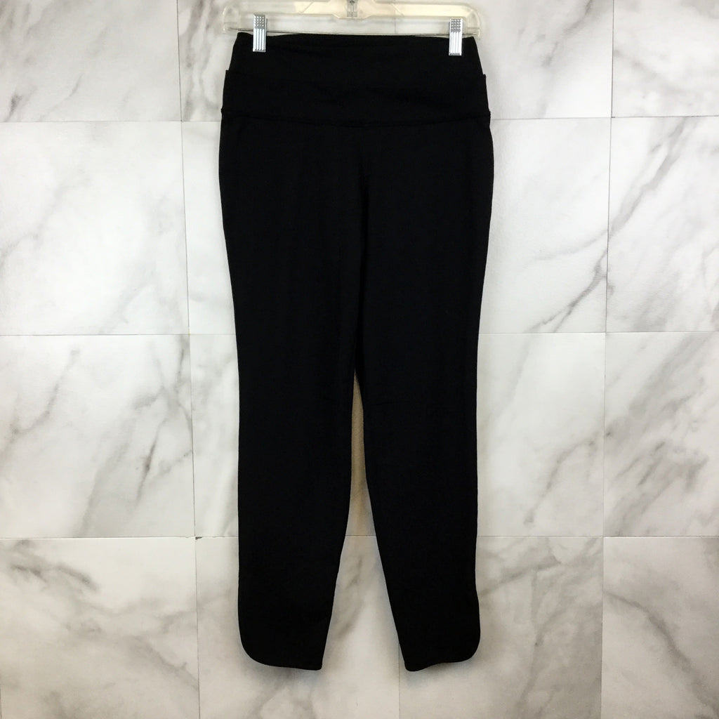 Lululemon Black Cropped Pants- size 4