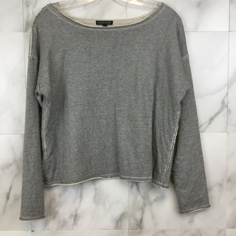 Eileen Fisher Raw Hem Long Sleeve - XS