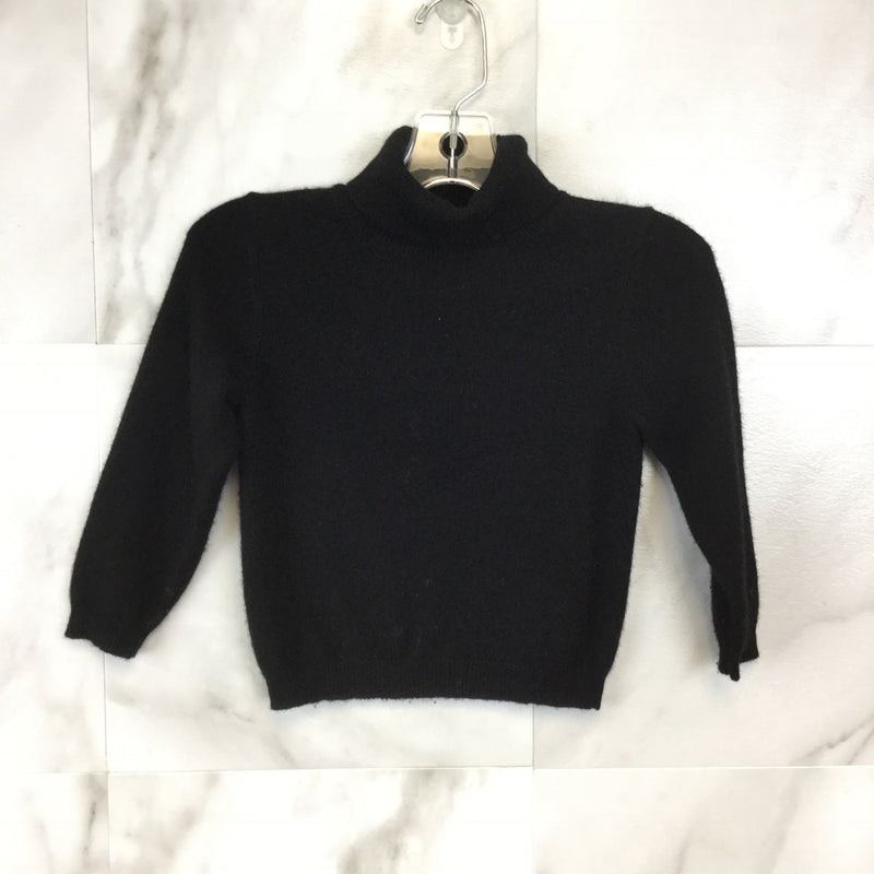 Girl's Bergdorf Goodman Cashmere Mock Turtleneck Sweater size 4