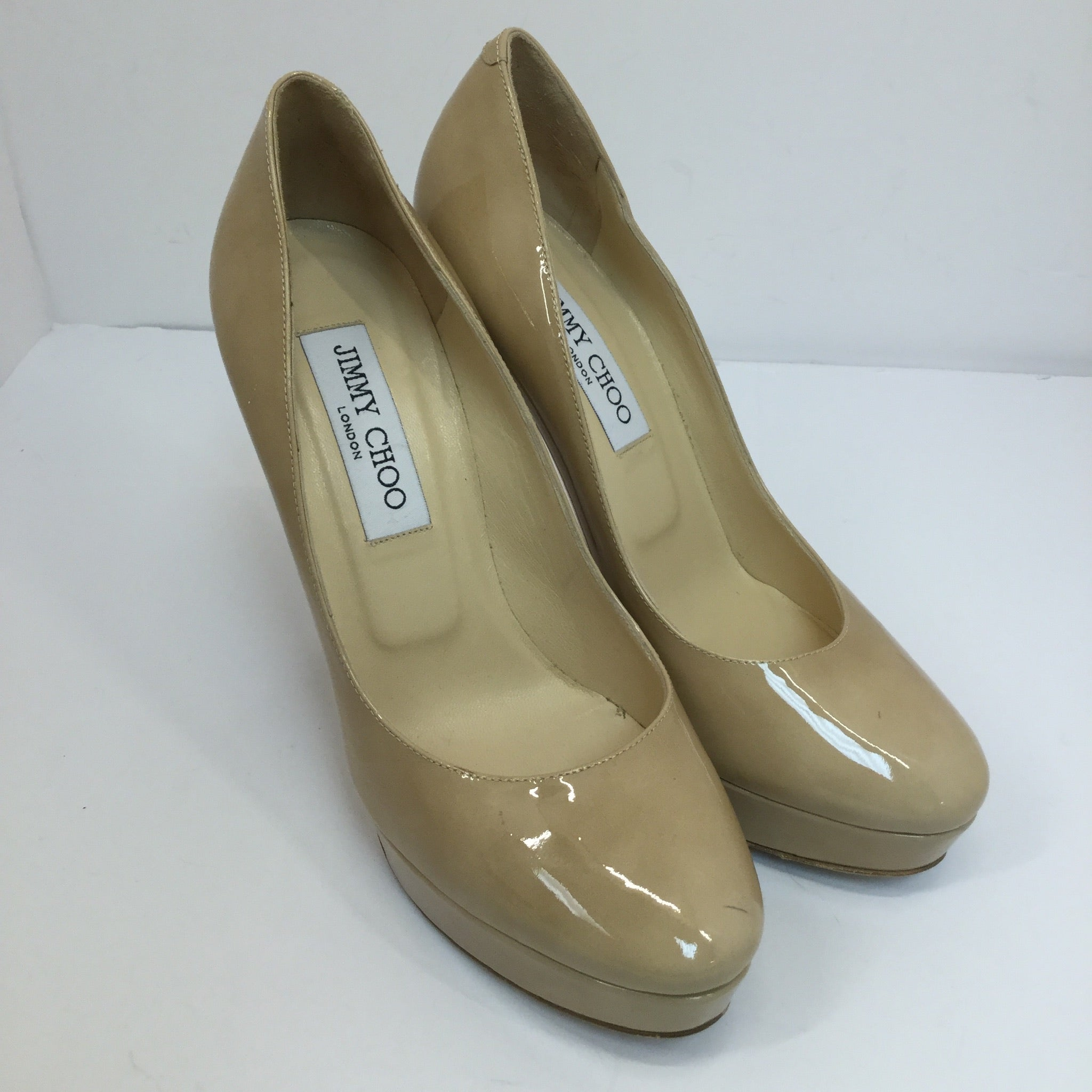 Jimmy Choo Cosmic Patent Leather Pumps - size 37