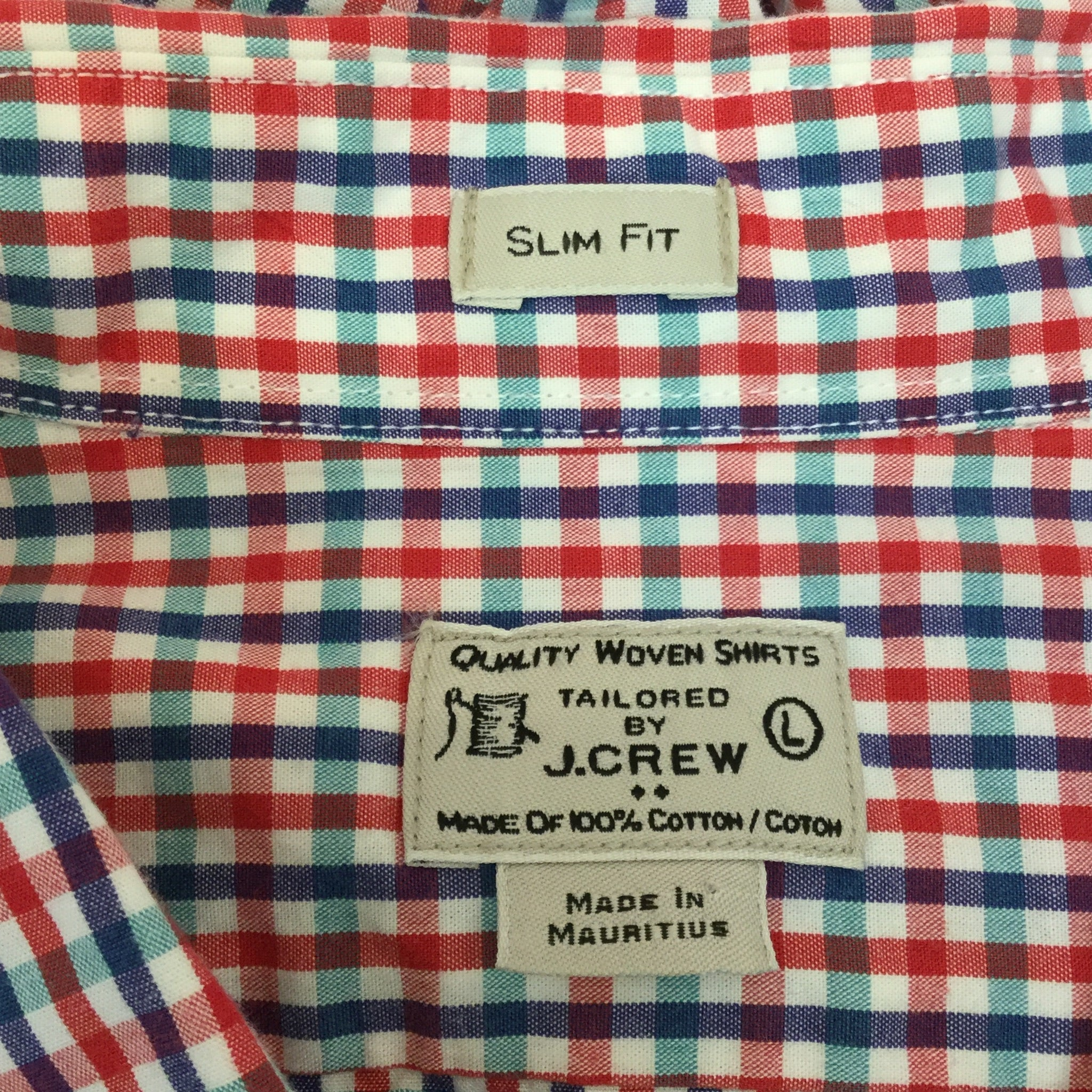 Men's J. Crew Slim Fit Button Down Shirt size Large
