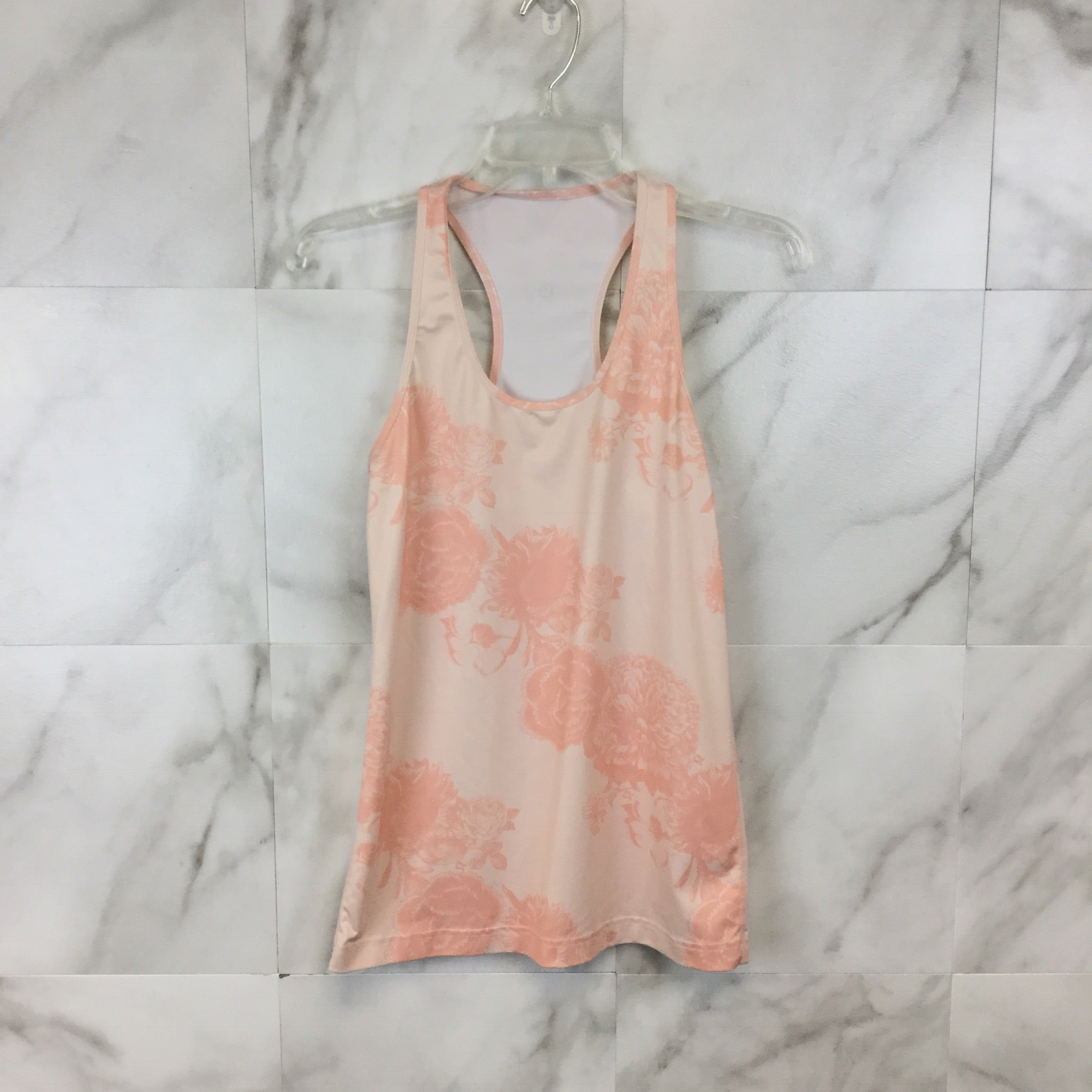 Lululemon Floral Racerback Tank size Small