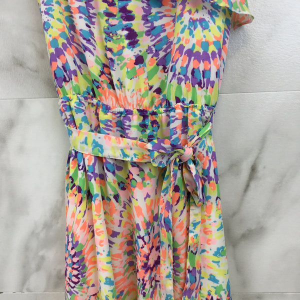 Girl's Blush by Us Angels Tie-Dye Dress size 16