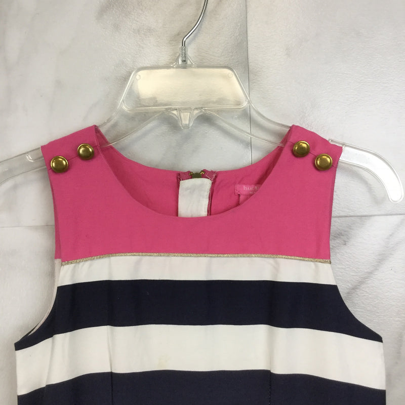 Girl's Isaac Mizrahi Striped Dress size 8