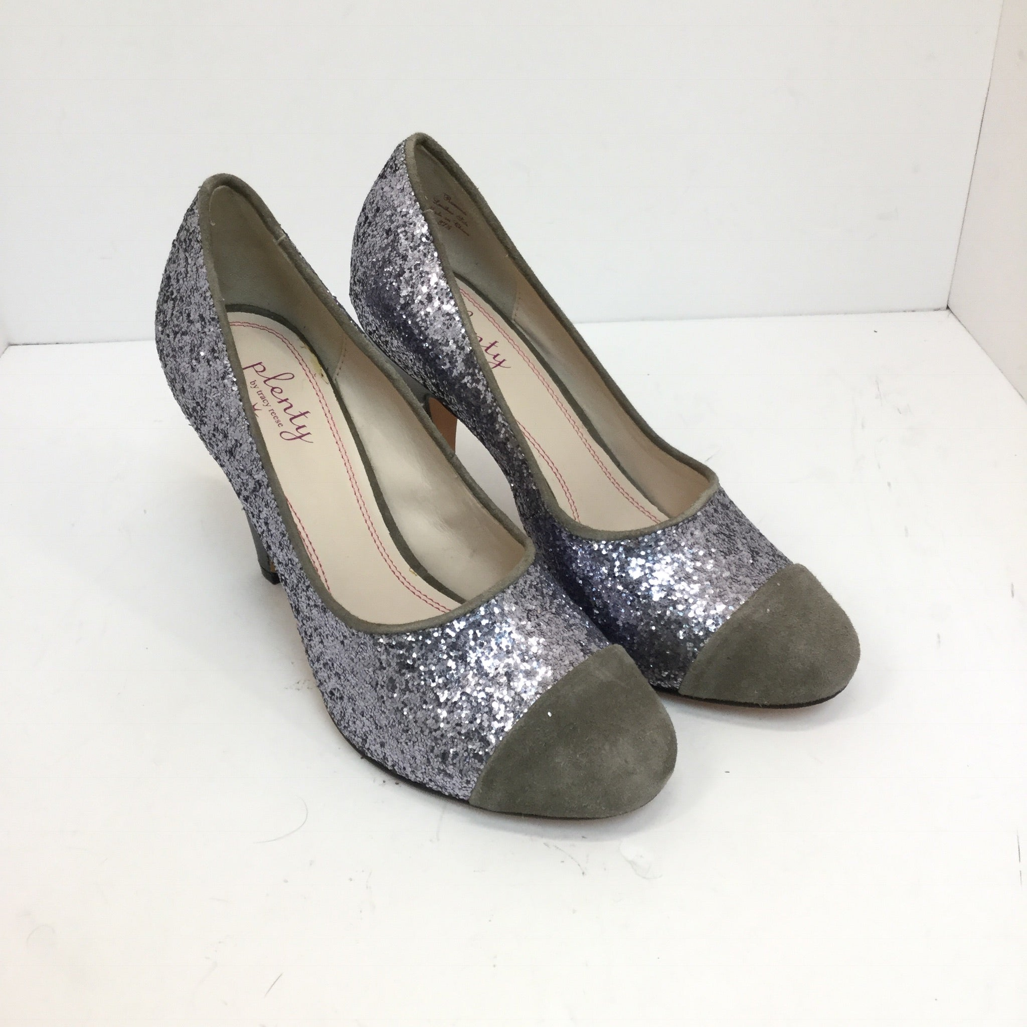 Plenty by Tracy Reese Ramona Glitter Pumps size 37.5