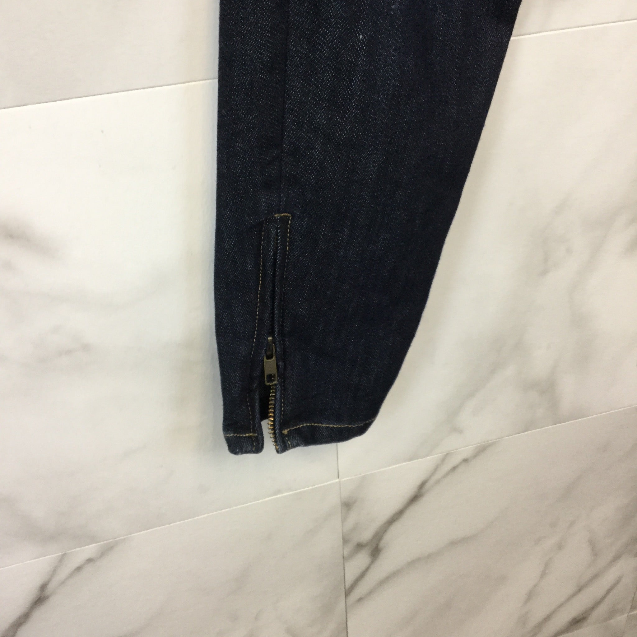 Current/Elliott Zipper Skinny Jeans - Size 28