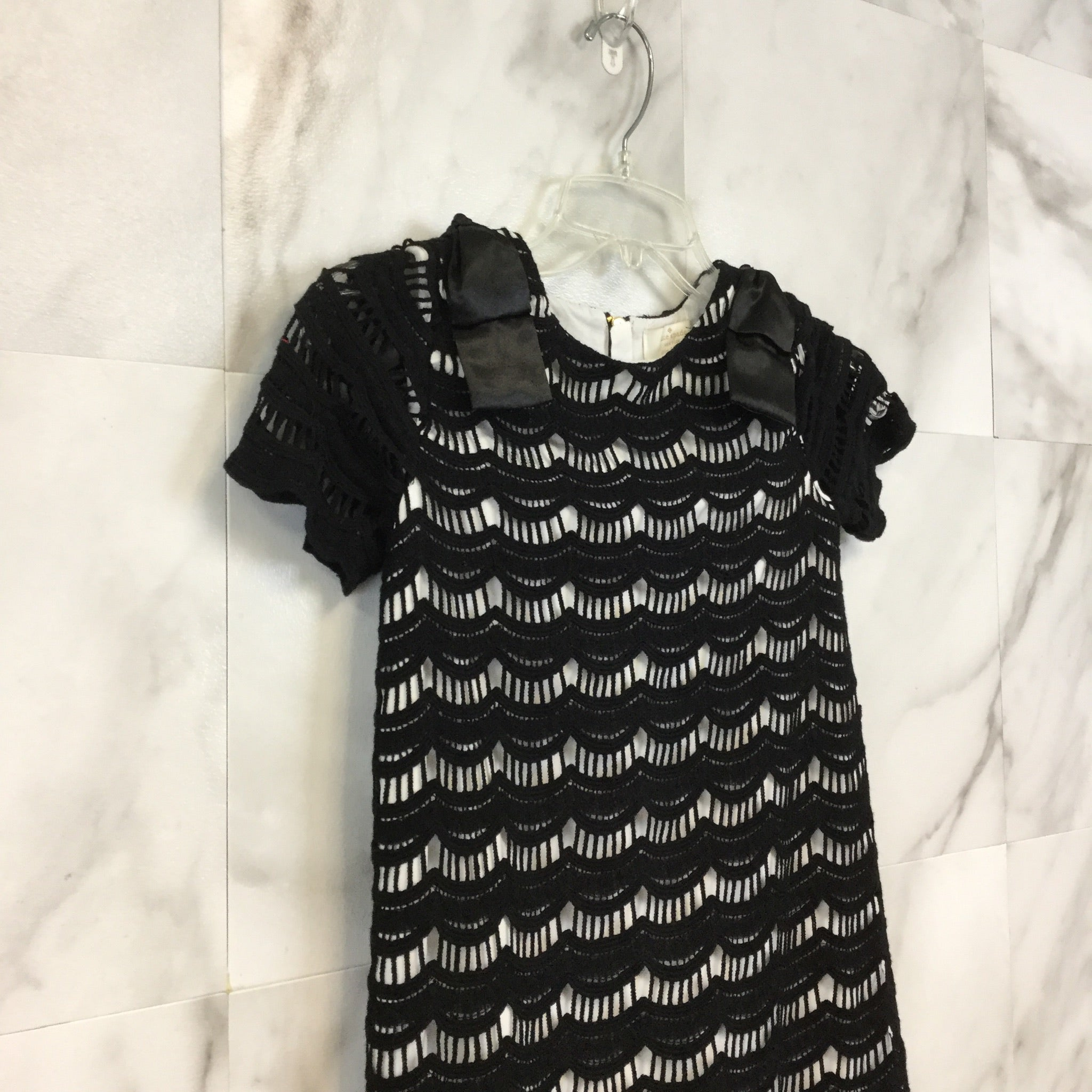 Girls Kate Spade Virginia Lace Dress - size 128/8Y