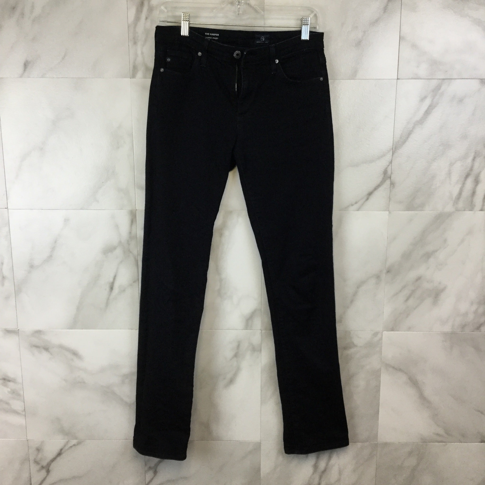 "Adriano Goldschmied ""The Harper"" Essential Straight Leg Jeans - Size 4"