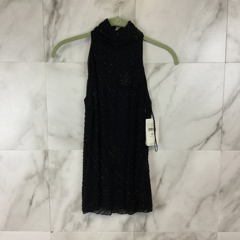 Ralph Lauren Beaded High Neck Tank Top - Size 2