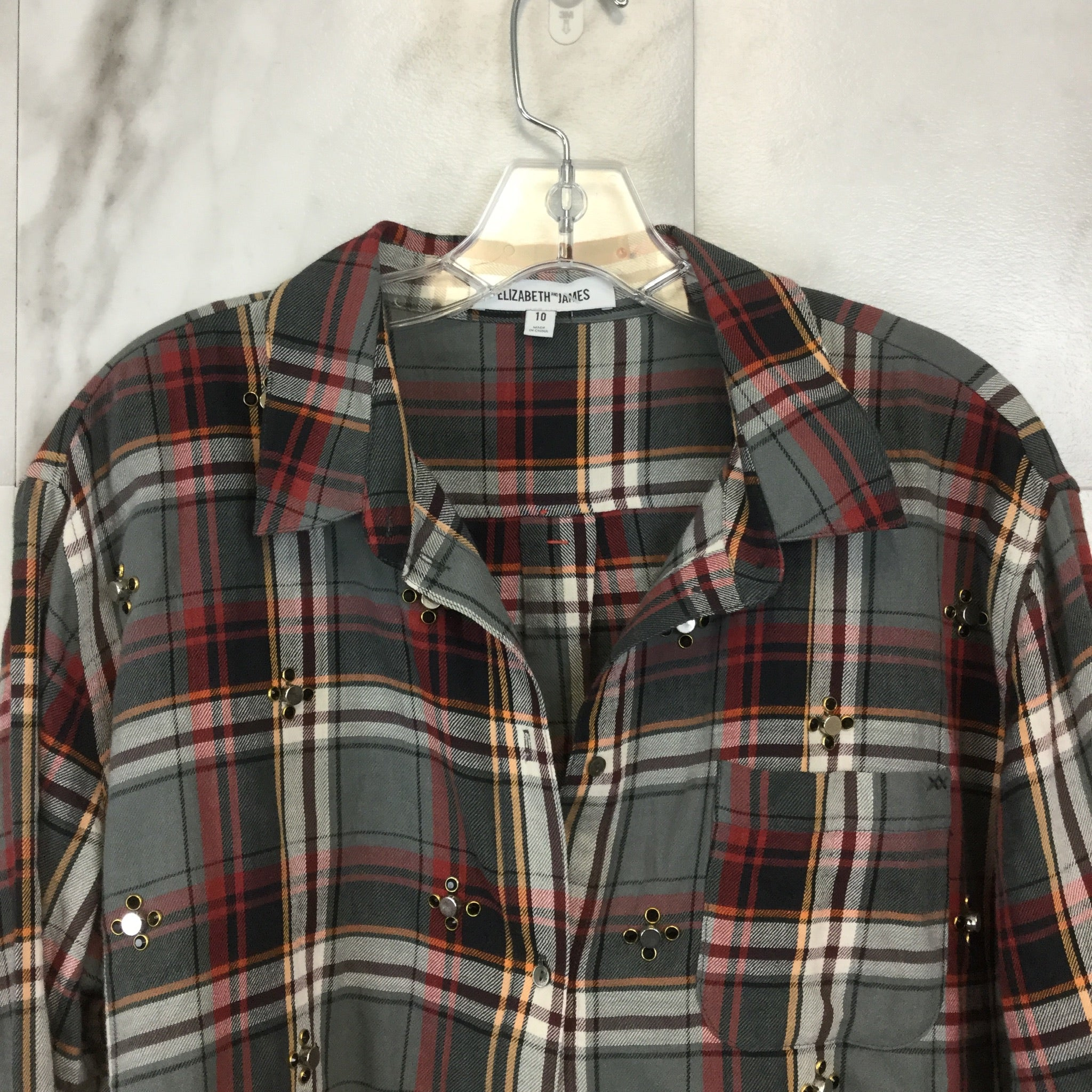 Elizabeth and James Carine Shirt - Size 10