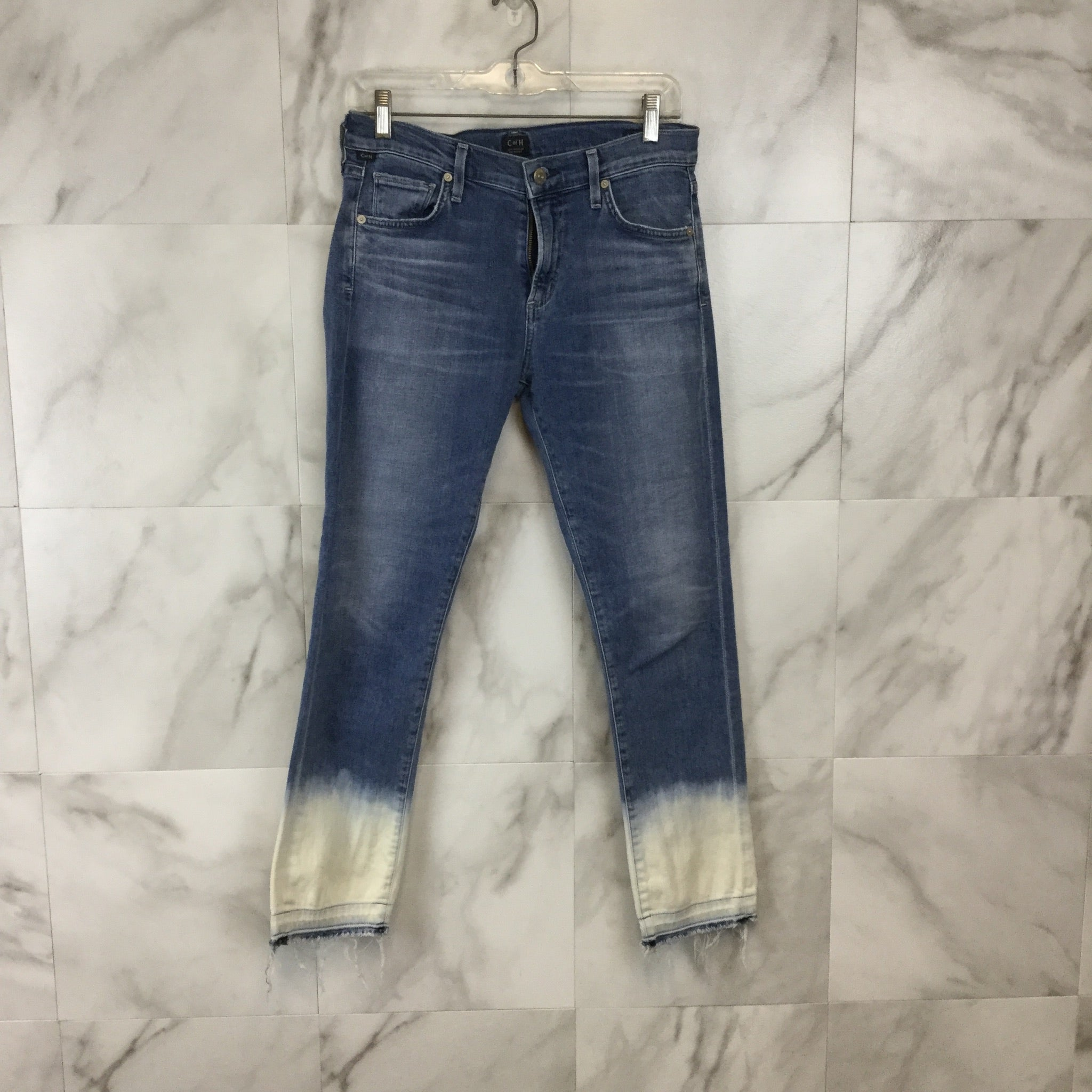 Citizens of Humanity Agnes Crop Jeans - Size 4