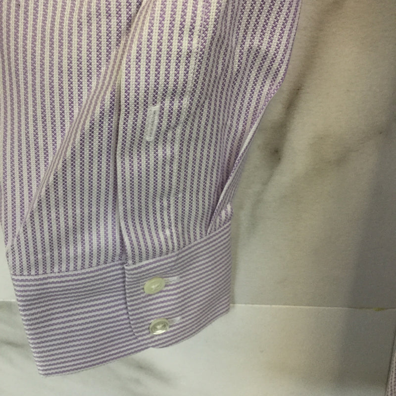 Mens Burberry Stripe Button Down Shirt - size 15.5