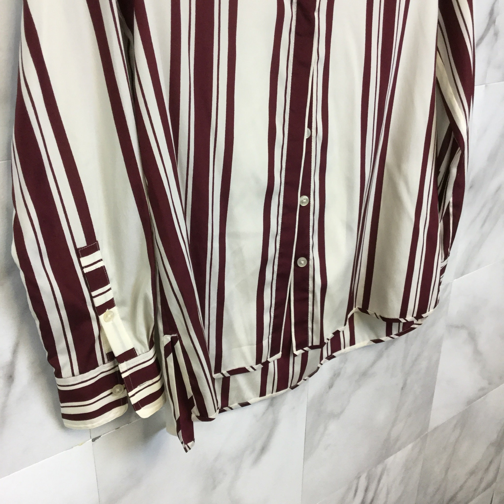 Tory Burch Striped Button Down - Size 4