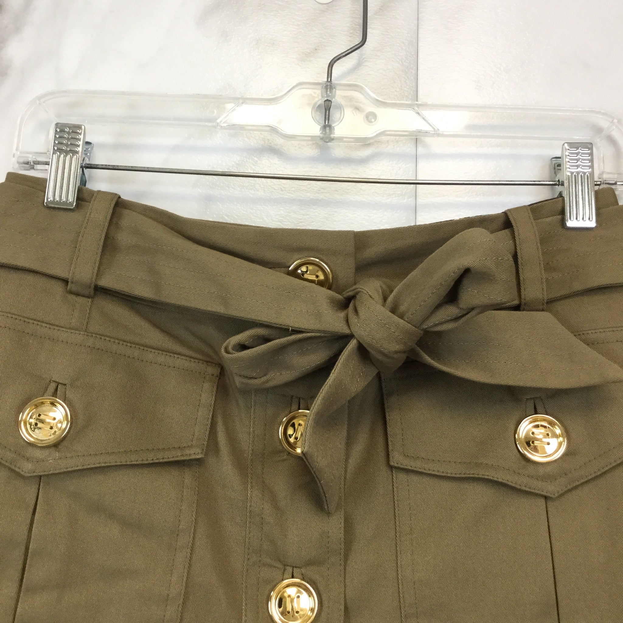 Milly Button Front Skirt - size 4
