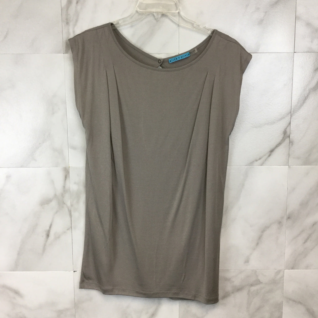 Alice + Olivia Cutout Back Top - Size S