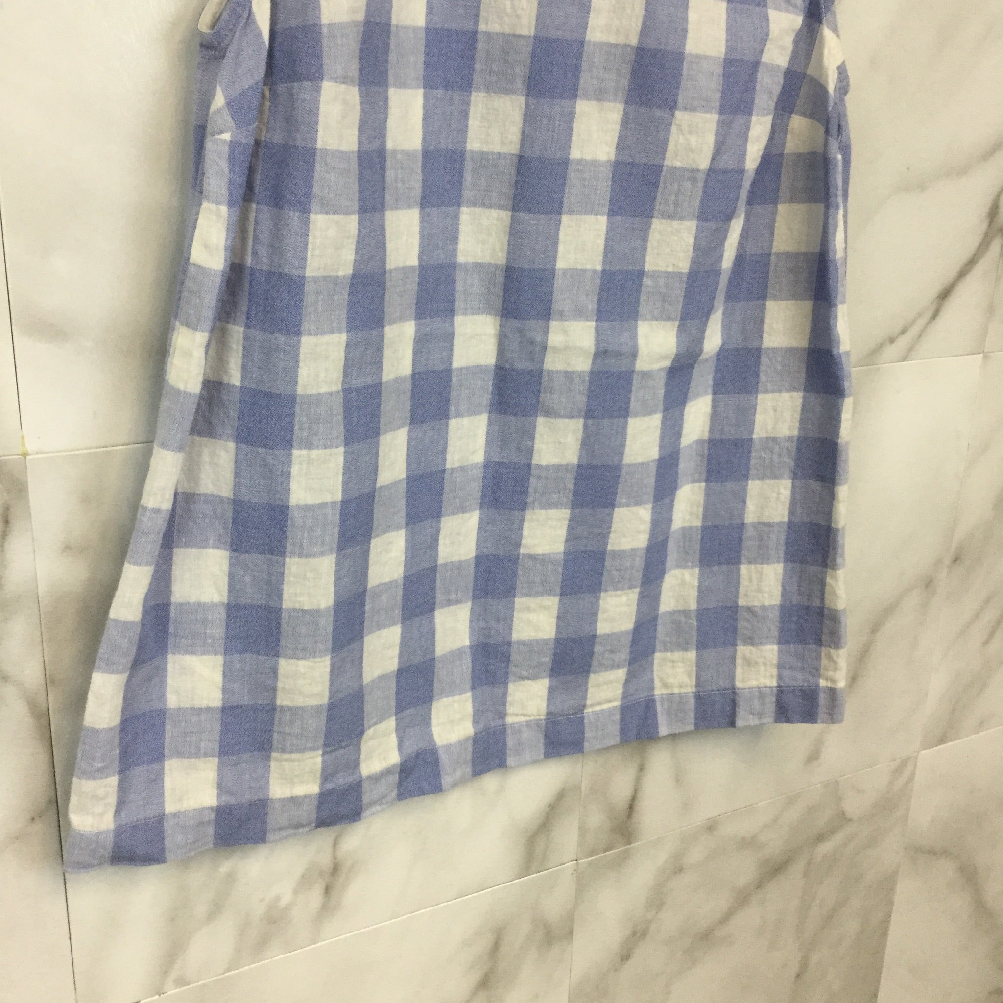 J. Crew Gingham Shell Tank Top - Size 0
