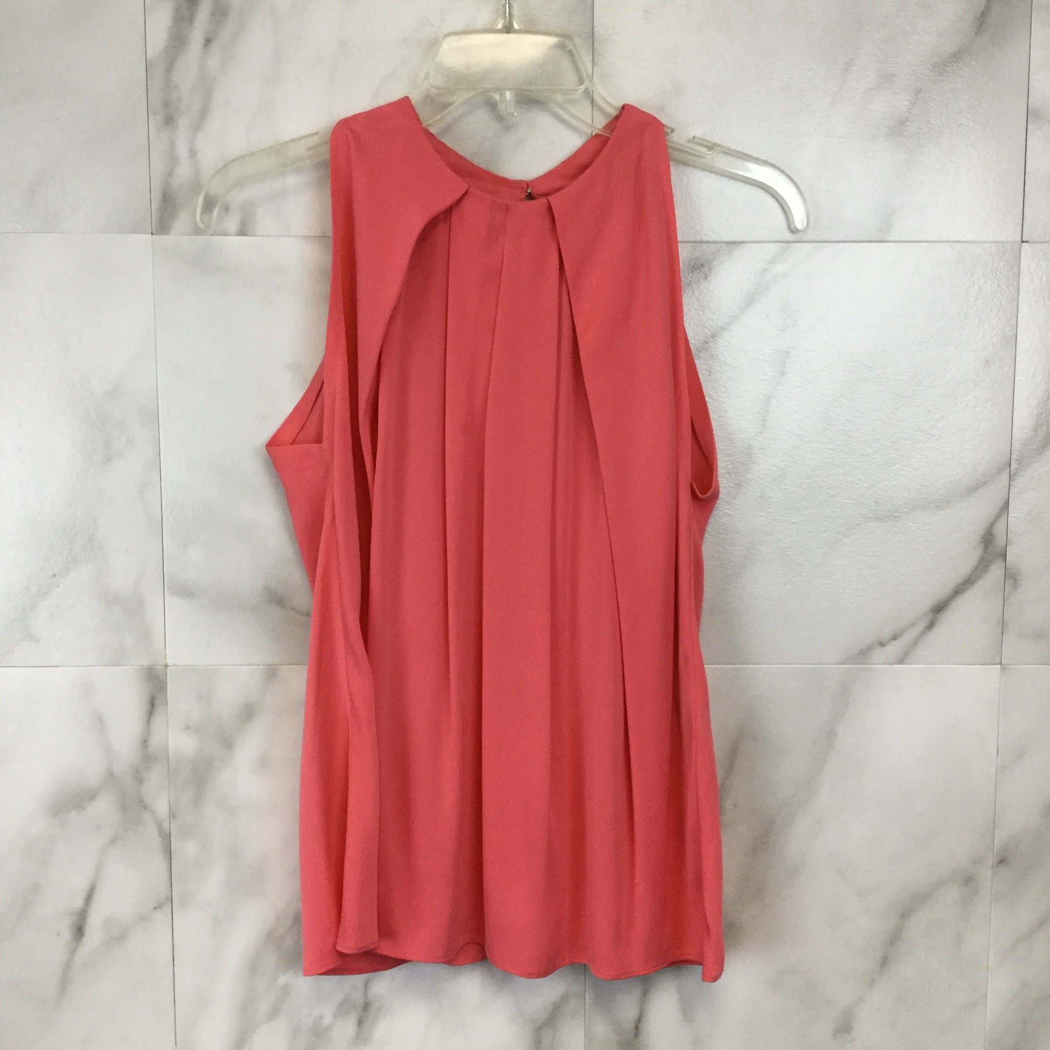 Diane Von Furstenberg Wide Pleated Tank Top - Size 4