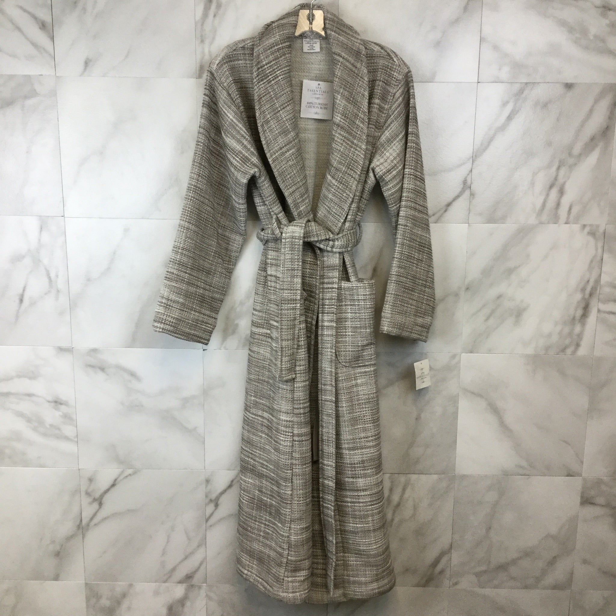 SPA Essentials by Sleep Sense Turkish Waffle Robe - size S