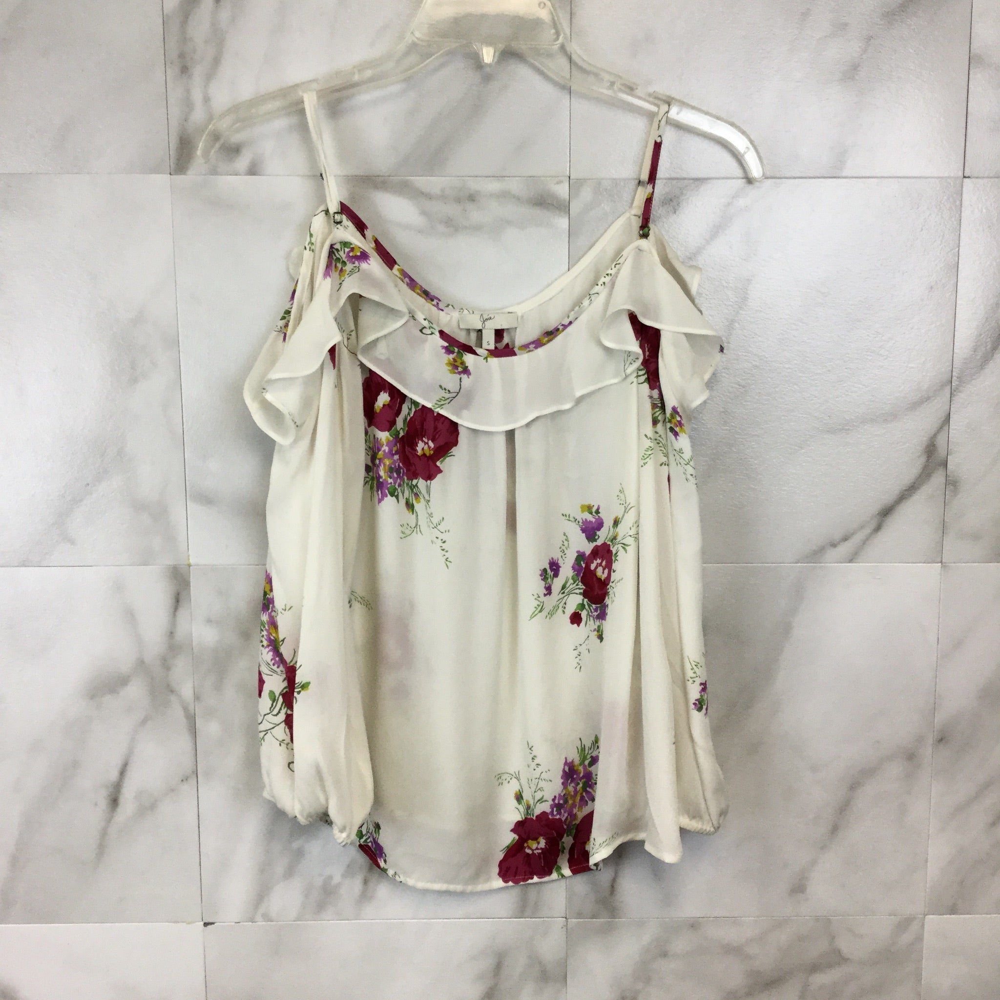 Joie Birtha Cold-Shoulder Top - size S